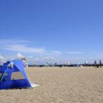 夏のお出かけにサンシェードテントが便利すぎてマジでおすすめ!